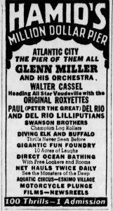 Glenn Miller at Atlantic City