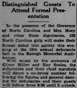 Glenn Miller September 9, 1938