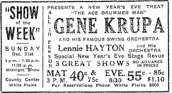 White Plains Ad 1939