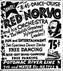 Red Norvo on the Potomac Ad