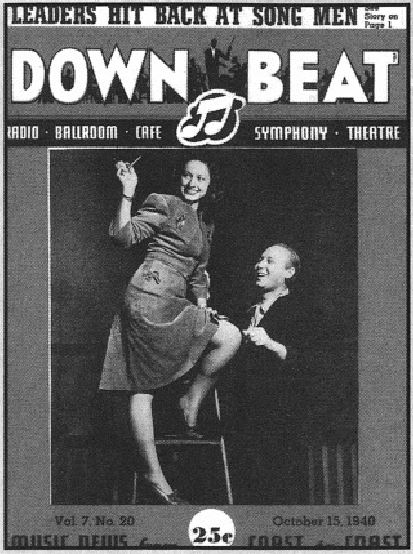 Down Beat Cover