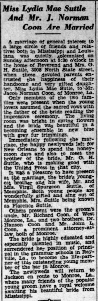 Spurgeon's sister is married