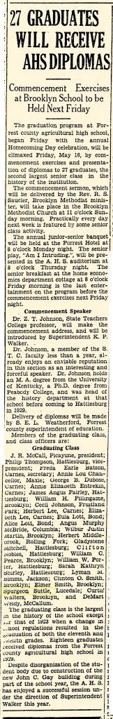 Spurgeon Suttle Graduates