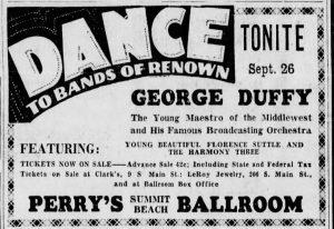 Duffy at Summit Beach Ballroom