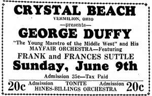 Frances Suttle at Crystal Beach