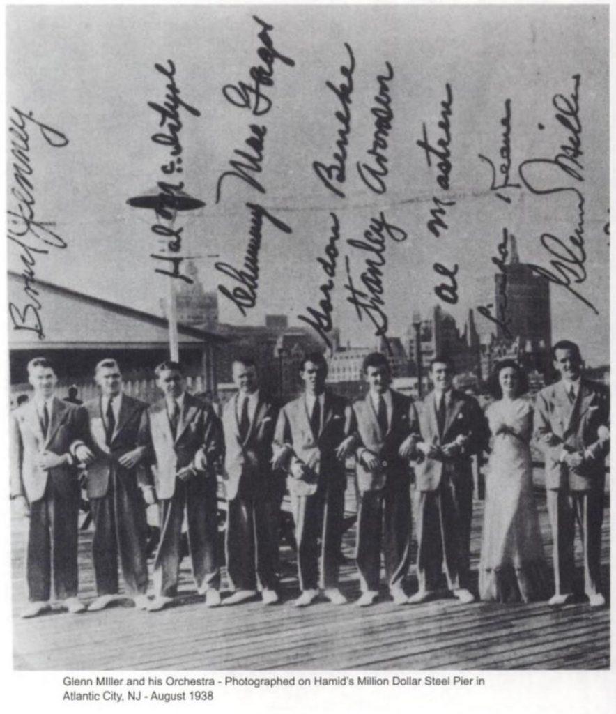 Linda Keene with Glenn Miller 1938