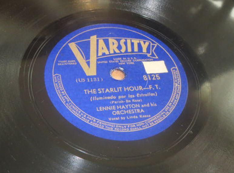 Linda Keene with Lennie Hayton - Starlit Hour