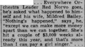What happened to Mildred Bailey
