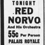 Norvo at the Palais