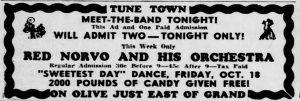 Norvo at the Tune Town Ballroom