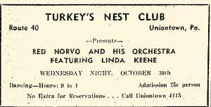 Norvo opens the Turkey's nest
