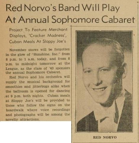 Norvo at University of Michigan