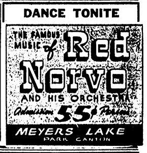 Red Norvo at Myers Lake