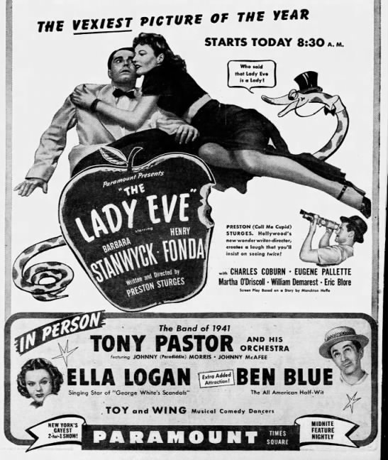 New York Paramount Ad