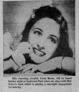 Linda Keene in Detroit with Red Norvo
