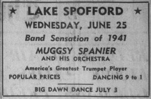 Spanier at Lake Spofford