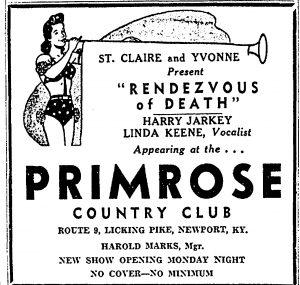 Linda Keene still at the Primose