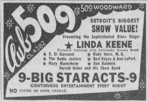 Linda Keene at Club 509