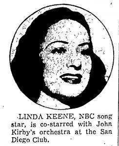 Linda Keene at Club San Diego