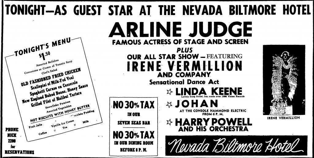 Linda Keene closing in Las Vegas