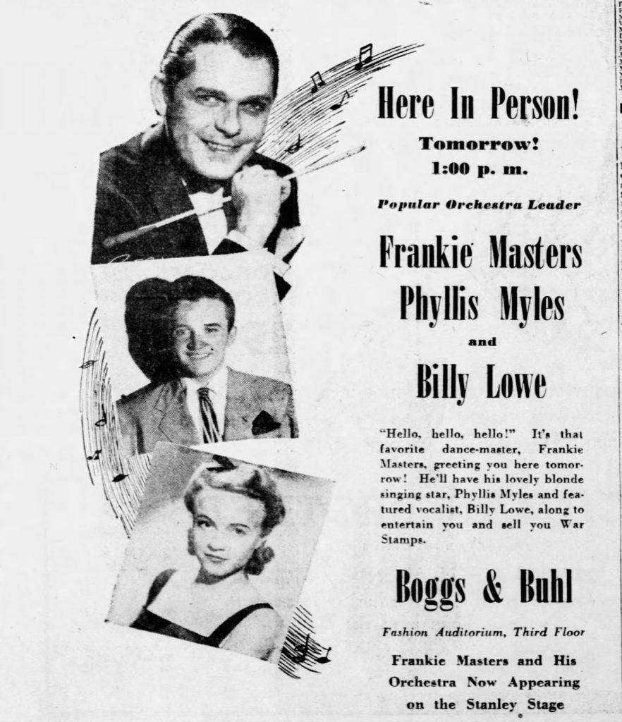 Frankie Masters & Billy Lowe