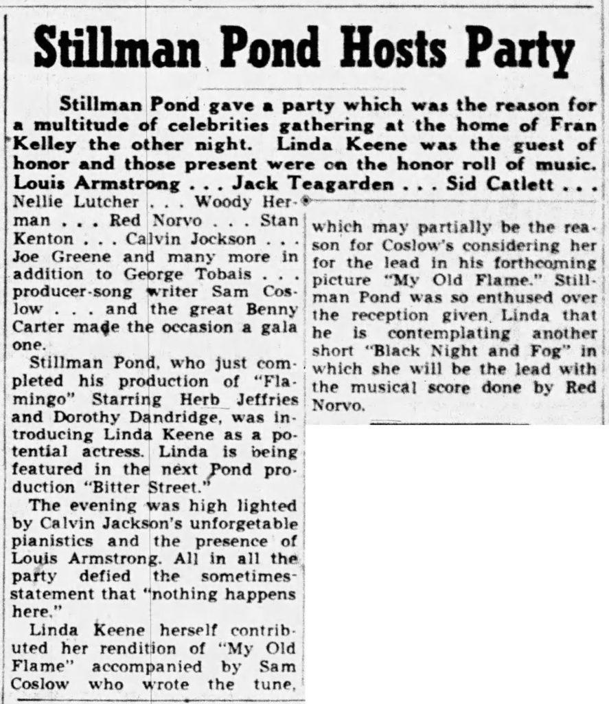 Stillman Pond party honoring Linda Keene